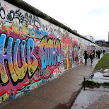 the beautiful Eastside Gallery in Berlin, Berlin, Germany