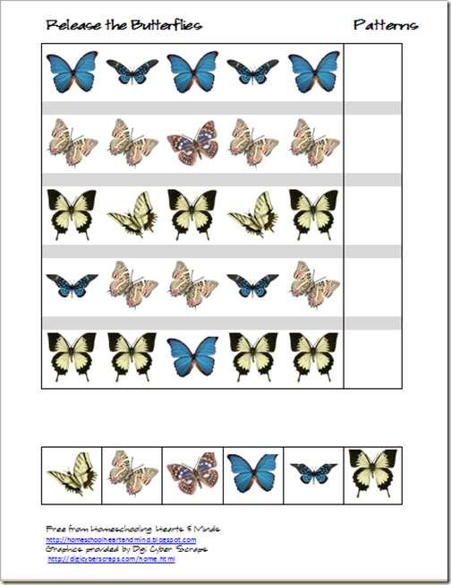 butterflies patterns