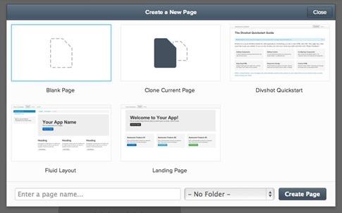 Divshot-diseño web
