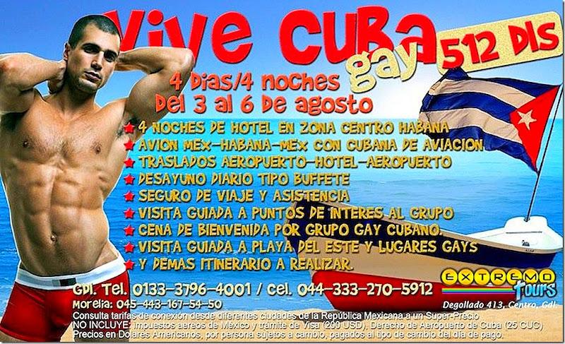 VIVE CUBA GAY