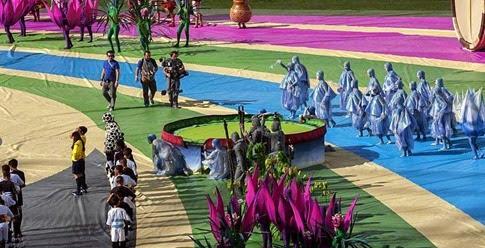 106 millones de impresiones genera la inauguración de #Brasil2014