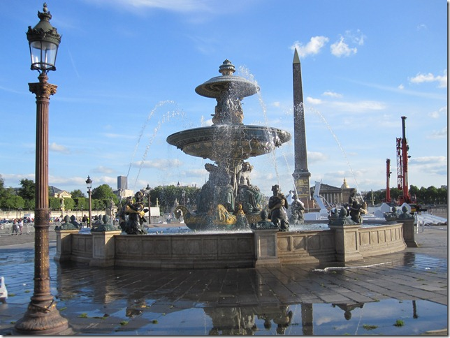 Fountain in Place de la Concorde