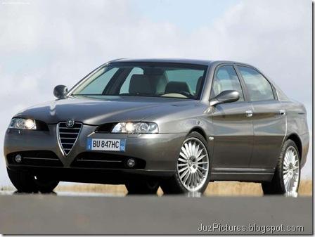 Alfa Romeo 166 (2004)7