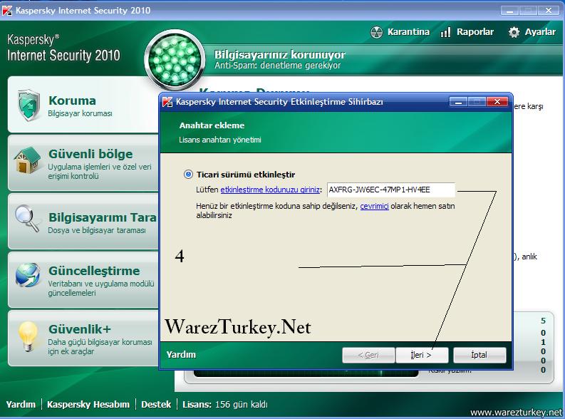 Ключи Для Касперский 2010.