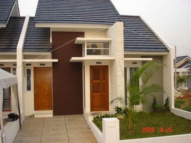 Desain rumah minimalis type 45 modern