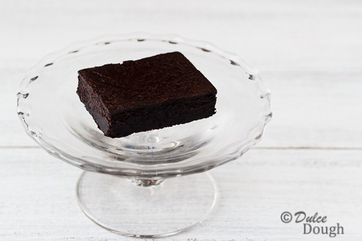 Special Dark Cocoa Truffle Brownie