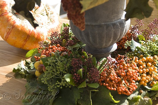 Fall Outside Decoration Table Centerpiece 3