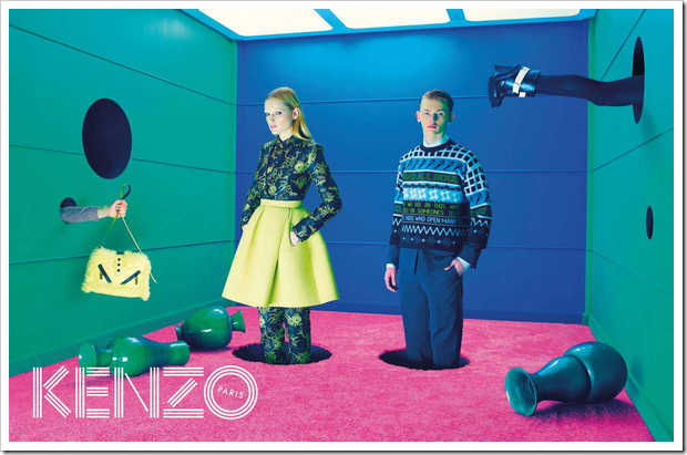 Campaña otoño invierno 2015 04 Kenzo