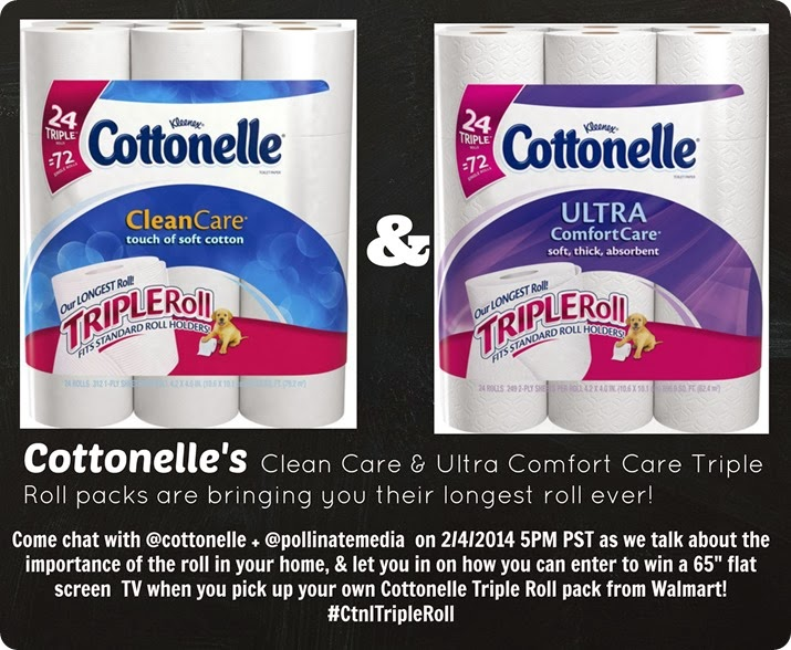 Cottonelle Twitter party post image