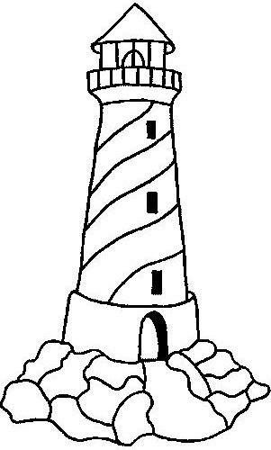 Dibujos de faros para colorear - Dessin de phare ...
