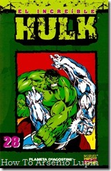 P00028 - Coleccionable Hulk #28 (de 50)