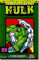 P00028 - Coleccionable Hulk #28 (de 50)