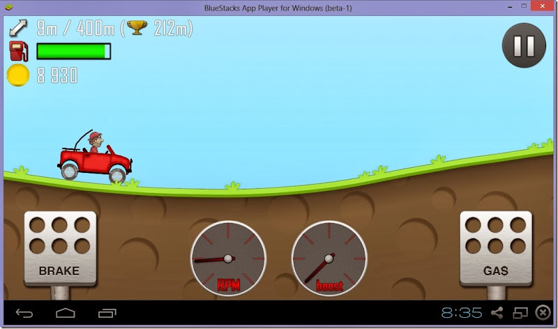 play hill climb racing for pc