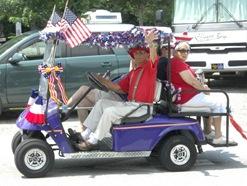 FV Mixons, July 2012 Parade