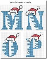 punto de cruz ltras navidad (4)