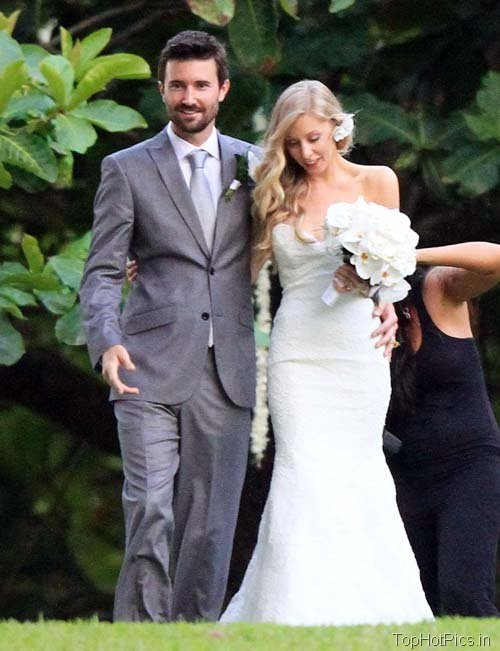 Leah Felder Hot Wedding Photos 3