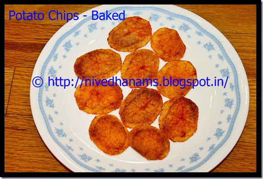 Potato Chips(Baked) - IMG_3908