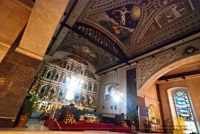 The Altar at Cebu's Sto. Niño Church