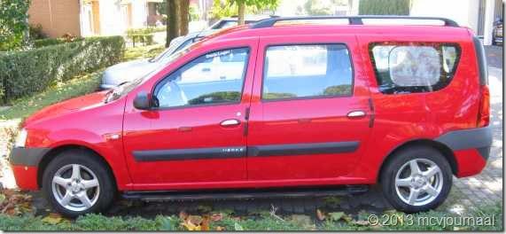 Dacia Logan MCV 6 jaar 04