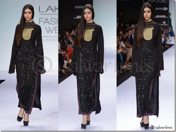 Digvijay_Singh_Black_Full_Sleeves_Kameez