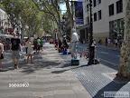 Барселона улица Рамблер