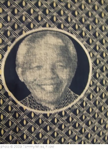 'Nelson Mandela Shweshwe' photo (c) 2009, Tommy Miles - license: http://creativecommons.org/licenses/by-sa/2.0/