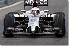 Button nei test di Jerez 2014
