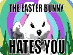EasterBunnyHate