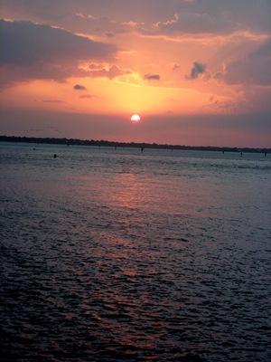 Monday beach and sunset 056A