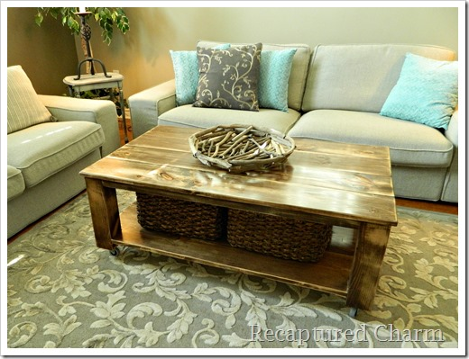 rustic coffee table8