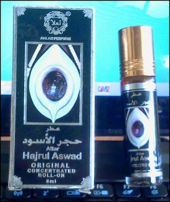 perfume hajarul aswad