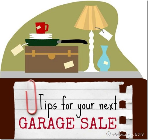 Tips for your next garage sale 02