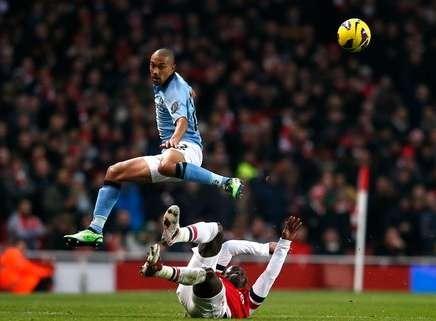 Hasil Arsenal vs Manchester City, Liga Inggris Minggu 13 Januari 2013