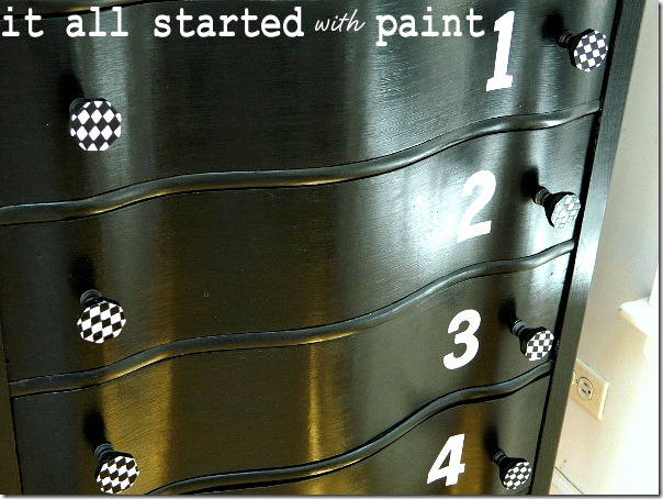 black_and_white_dresser_painted_numbers