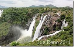 Sue Reno, Shivanasamudra Falls, India