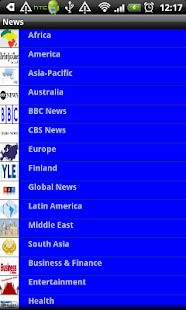 Global Headlines - screenshot