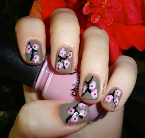 Cherry Blossom Nails 2