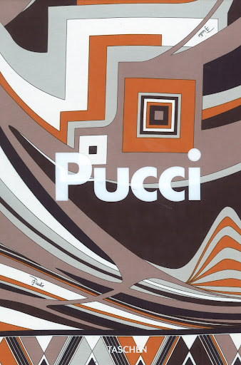 Taschen's brilliant book on everything Pucci is individually wrapped with this signature fabric, different on each copy.