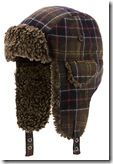 Barbour Tartan Trapper Hat