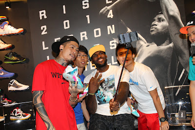 other event 140724 lebron rise tour asia 2 02 LeBron James Sneaker Rotation During 2014 Rise Tour in Asia