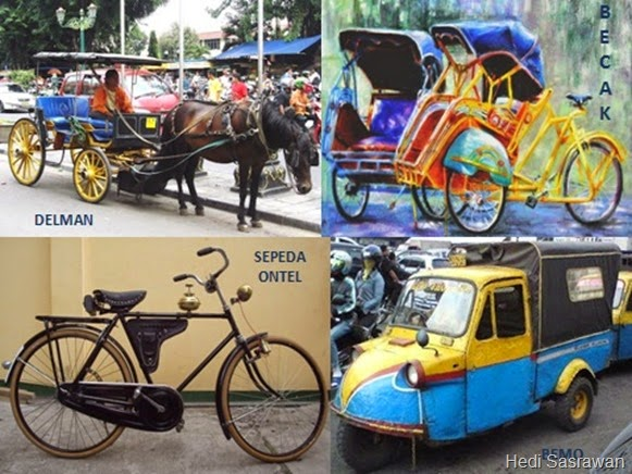 alat transportasi tradisional