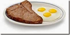 3.Steak & eggs