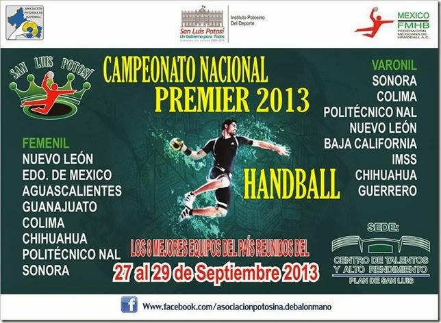 Nacional Premier en México: Definidas las finales | Mundo Handball