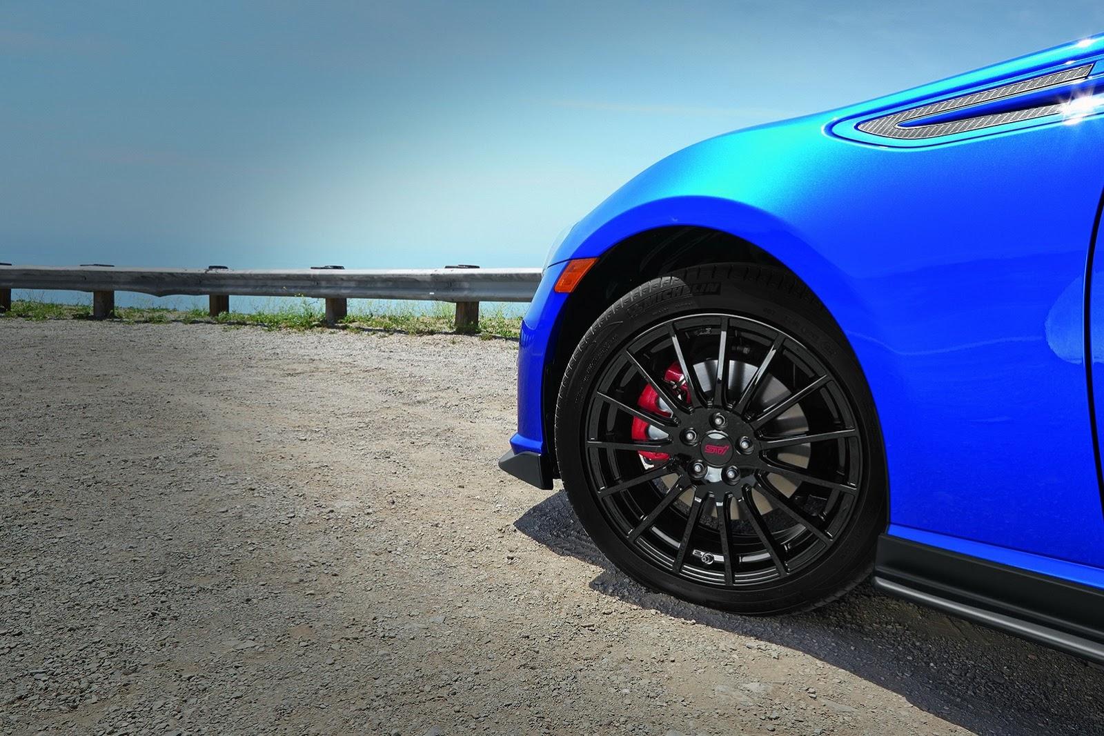 All Types brz sti parts : Subaru USA's New 2015 BRZ Series Blue with STI Parts has a Placebo ...