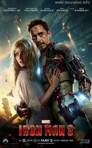 Iron Man 3 (2013) R6 LiNE [V2] - 600MB - ShAaNiG & 720p HDSCR ULTRA.EDiTiON x264-HD3D