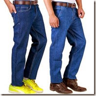 Buy Jhon Philip Fashion Party Club Blue Jeans pack Of 2 at Rs.587 only