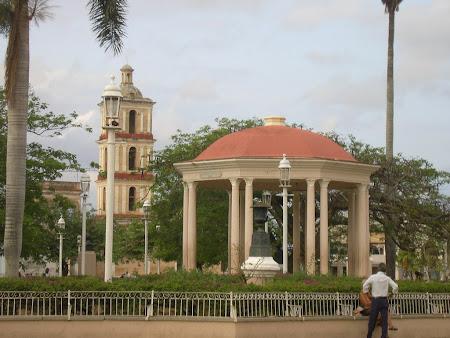 Cuba: The main square in Remedios