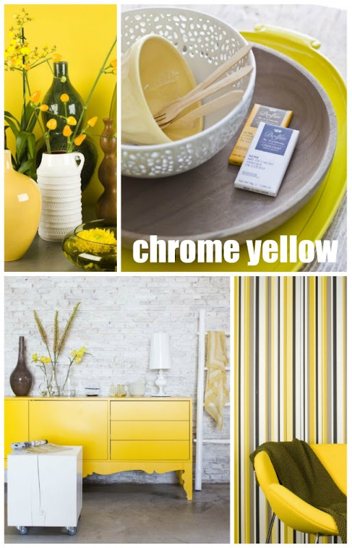 Bart Brussee chrome yellow