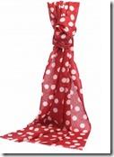 Pure Cashmere Spot Print Scarf - £85
