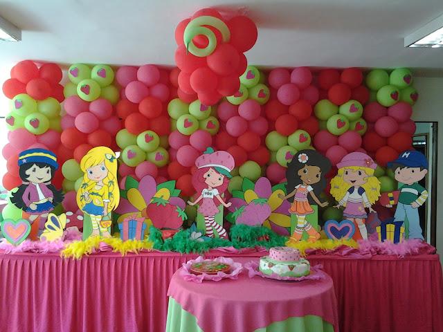Imagenes fiesta infantiles rosita fresita imagui for Imagenes de decoracion de fiestas infantiles